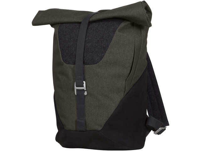 Bergans Oslo Roll-Top Daypack solid charcoal/black